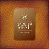 Restaurant menu design Royalty Free Stock Photo