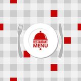 Restaurant menu design background Stock Image