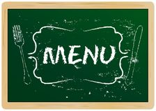 Restaurant menu Stock Photos