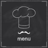 Restaurant menu design Stock Images