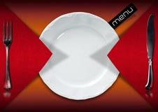 Restaurant Menu Design Stock Photo