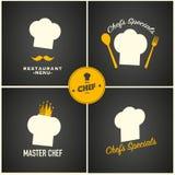 Restaurant menu design set Stock Image