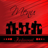 Restaurant menu design - template brochure Stock Photo