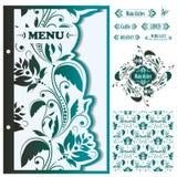 Restaurant menu design template - vector Stock Photo