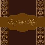 Restaurant Menu Design. Vector Stock Images
