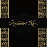 Restaurant Menu Design. Vector Royalty Free Stock Photo