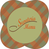 Restaurant Menu Design. Vector Cover of a Bistro Royalty Free Stock Images