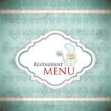Restaurant menu design in vintage style Stock Photo