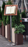 Restaurant menu Stock Photos