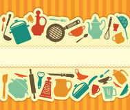 Restaurant menu - Illustration Royalty Free Stock Photography