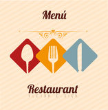 Restaurant menu Stock Photo