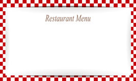 Restaurant menu paper  background Royalty Free Stock Image