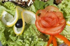 Restaurant menu: salad Royalty Free Stock Photos