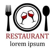 Restaurant menu symbol Royalty Free Stock Photo