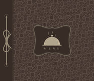 Restaurant menu tempale design. Vector available Stock Images