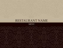 Restaurant menu tempale design Stock Photo