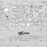 Restaurant Menu Template Vector Stock Images