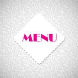 Restaurant Menu Template Vector Illustration Royalty Free Stock Photo