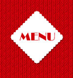 Restaurant Menu Template Vector Illustration Stock Photo