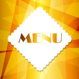 Restaurant Menu Template Vector Illustration Stock Photos