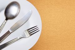 Restaurant menu template Stock Image