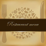 Restaurant Menu. Vector Royalty Free Stock Photography