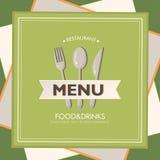 Restaurant menu Stock Photography