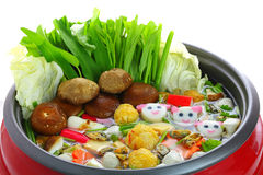 Sukiyaki pot Stock Images