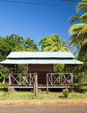 Restaurant metal roof Big Corn Island Nicaragua Royalty Free Stock Photography