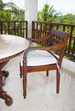 Restaurant mit Ansichten des Dschungels Stockfoto