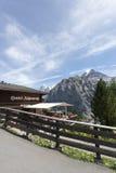 Restaurant in Mürren, Switzerland Stock Photography