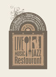 Restaurant with music Stock Image
