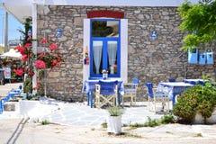 Restaurant near the beach Royalty Free Stock Image