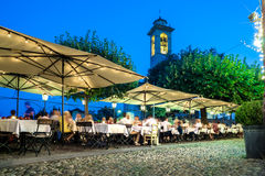 Restaurant nightlife Stock Photography