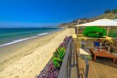 Restaurant Nobu Malibu lizenzfreie stockbilder