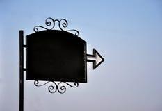 Restaurant noticeboard royalty-vrije stock afbeeldingen