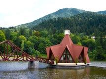 Restaurant On The Lake Stock Image