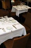 Restaurant op de straat Royalty-vrije Stock Afbeeldingen