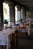 Restaurant op het water Royalty-vrije Stock Afbeelding