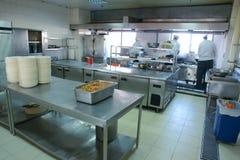 Restaurant operating room Royalty Free Stock Image
