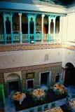 Restaurant oriental, Tunisie Photos stock