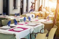 Restaurant outdoor Royalty Free Stock Photos