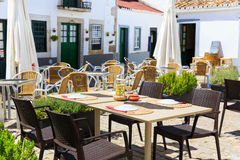 Restaurant outdoor Royalty Free Stock Image