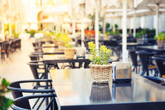 Restaurant outdoor Royalty Free Stock Photos