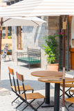 Restaurant outdoor tuscany Stock Photography