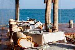 Restaurant outdoors stock image
