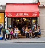 Restaurant in Paris Royalty Free Stock Photos