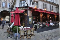 RESTAURANT IN PARIS Royalty Free Stock Image