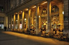 RESTAURANT IN PARIS Royalty Free Stock Images