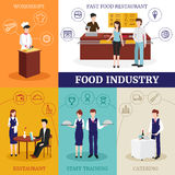 Restaurant People Design Concept Royalty Free Stock Photo